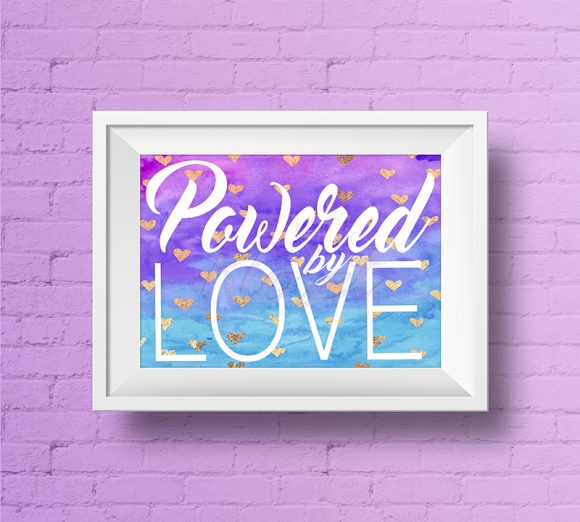 Powered-By-Love-Multi-Color-Background