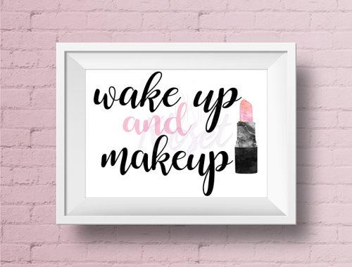 Wake up Make Up Pink Lipstick