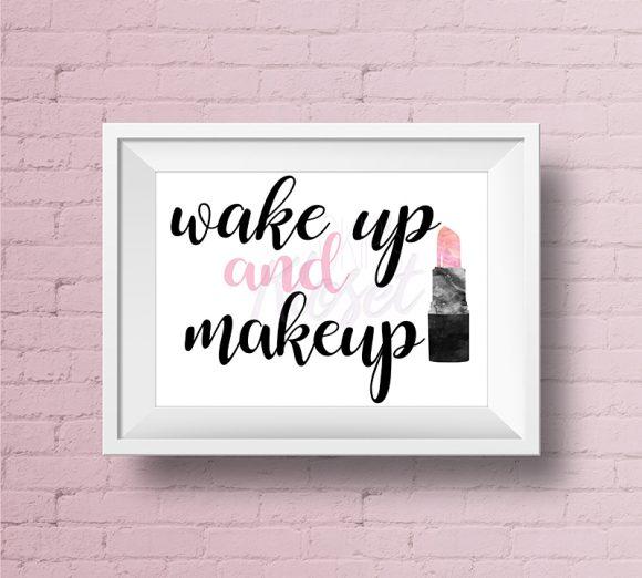 Wake-up-Make-Up-Pink-Lipstick