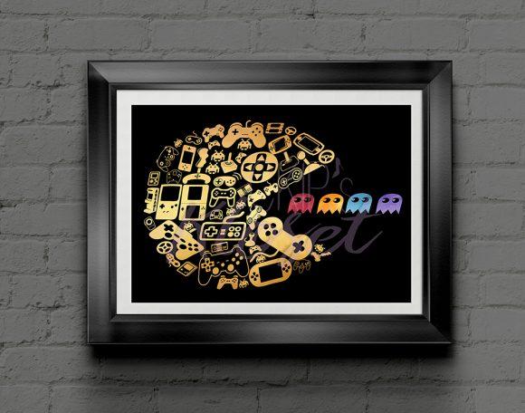 Pac-Man-Print