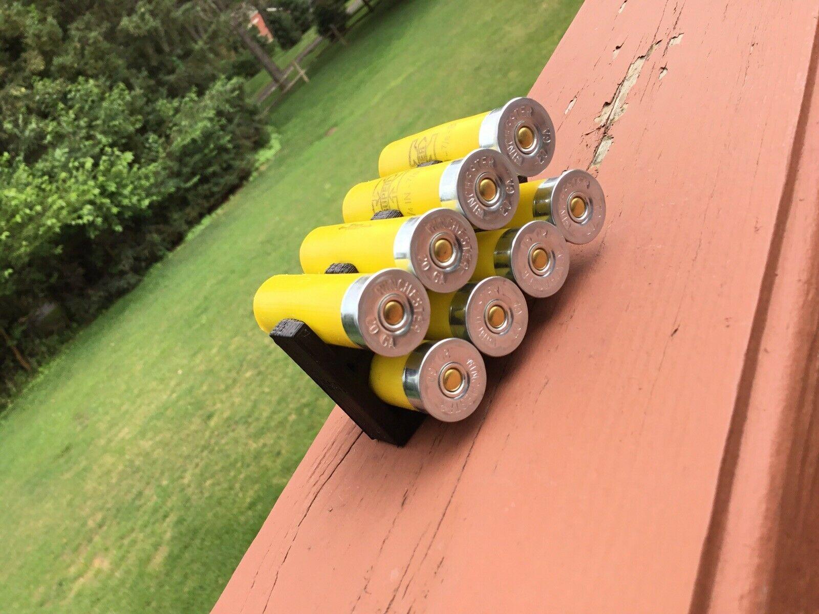 8 Shell Tactical Shotgun 20 Gauge Shell Ammo Holder with Vest Belt Clip 20 Ga.