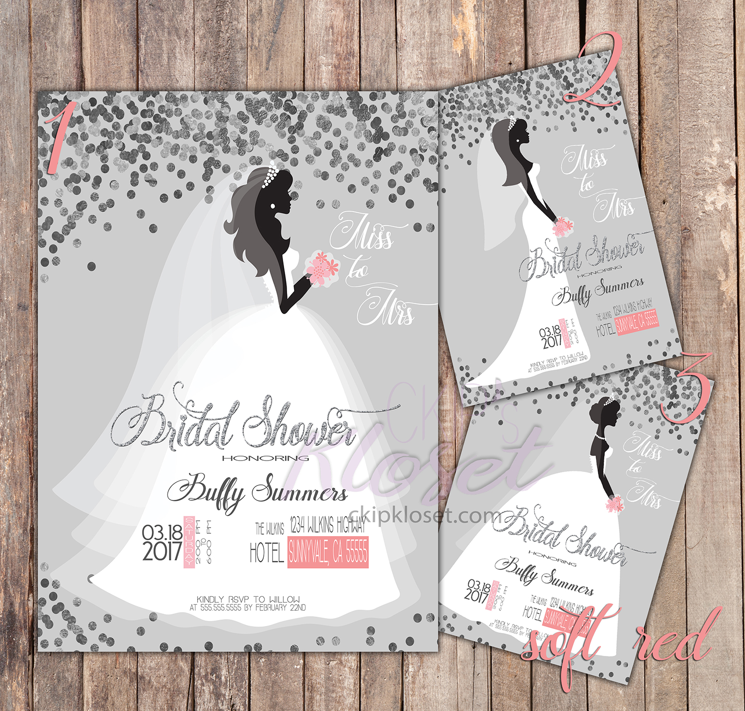 bridal shower bridal shower invitation wedding dress